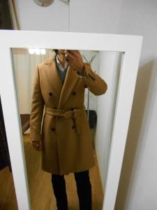 ヴィトンのコート