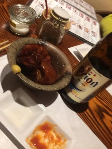 ラフテー & オリオンビール