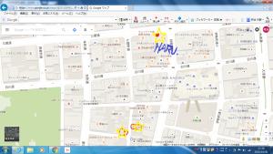 駐車場 地図 H27.10.30