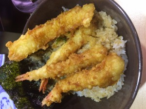 寿司屋の天丼