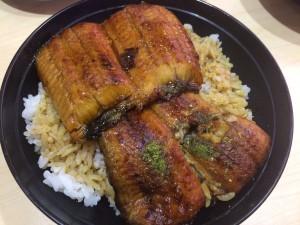 寿司屋のうな丼