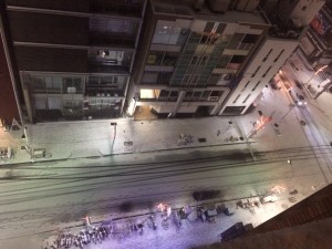雪景色 栄2
